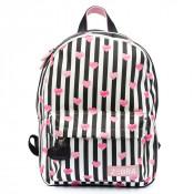 Zebra Trends Girls Rugzak M Stripes & Hearts