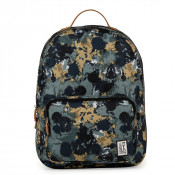 The Pack Society The Classics Rugzak Green Camo Allover