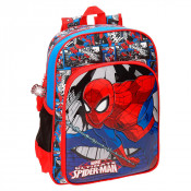 Disney Backpack L Spiderman Comic