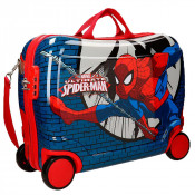 Disney Rolling Suitcase 4 Wheels Spiderman Comic