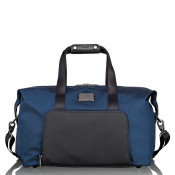Tumi Alpha 2 Travel Double Expansion Travel Satchel Navy/Black