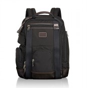 Tumi Alpha Bravo Shaw Deluxe Brief Pack Hickory 2