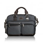 Tumi Alpha Bravo Anderson Slim Commuter Brief Anthracite 2