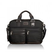 Tumi Alpha Bravo Anderson Slim Commuter Brief Hickory 2