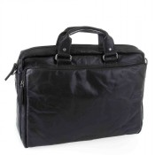 "Spikes & Sparrow Bronco Business Bag 15.6"" Black 23824"