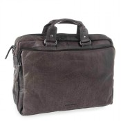 "Spikes & Sparrow Bronco Business Bag 15.6"" Charcoal 23824"