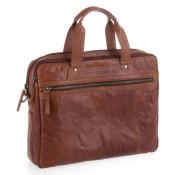 Spikes & Sparrow Bronco Business Bag Brandy 24244