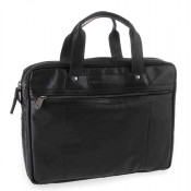 Spikes & Sparrow Bronco Business Bag Black 24244