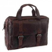 Spikes & Sparrow Bronco Business Bag Dark Brown 24245
