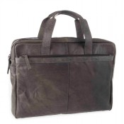 Spikes & Sparrow Bronco Business Bag Charcoal 24484