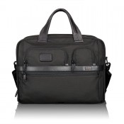 Tumi Alpha 2 Business T-Pass Expandable Laptop Brief Black