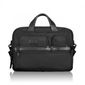 Tumi Alpha 2 Business T-Pass Medium Screen Laptop Slim Brief Black