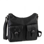 Spikes & Sparrow Bronco Zip Bag Black 292E131