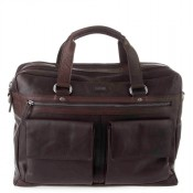 Spikes & Sparrow Bronco Business Bag Dark Brown 294S151