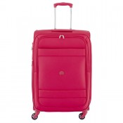 Delsey Indiscrete Trolley 4 Wheel 69 Expandable Red