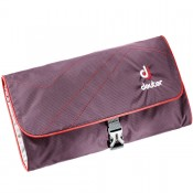 Deuter Wash Bag II Toiletkit Aubergine/ Fire