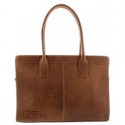 "Plevier Business/Laptoptas 1-Vaks 14.1"" Cognac 478"