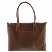 "Plevier Business/Laptoptas 1-Vaks 15.6"" Cognac 483"