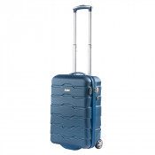 CarryOn Transfer Handbagage 2 Wheel Trolley 55 Blue