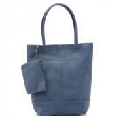 Zebra Trends Natural Bag Kartel Rits Paradox Jeans Blue 557701