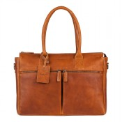 "Burkely Antique Avery Laptopbag 15.6"" Cognac 698856"