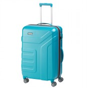 Travelite Vector 4 Wheel Trolley M Expandable Turquoise