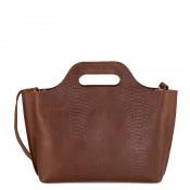 Myomy My Carry Bag Handbag Anaconda Brandy