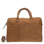 DSTRCT Wall Street Business Laptoptas 17'' Cognac 76820