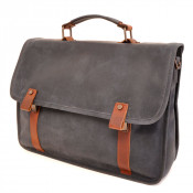 "Barbarossa Ruvido Brief Case Laptop Schoudertas 15.4"" Navy"