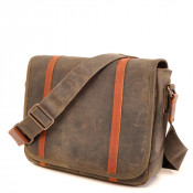 Barbarossa Ruvido Courier Bag Schoudertas Military