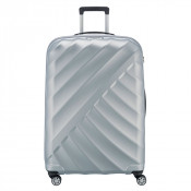 Titan Shooting Star 4 Wheel Expandable Trolley L Silver