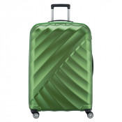 Titan Shooting Star 4 Wheel Expandable Trolley L Green