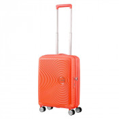 American Tourister Soundbox Spinner 55 Exp. Spicey Peach