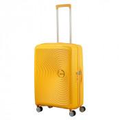 American Tourister Soundbox Spinner 67 Exp. Golden Yellow
