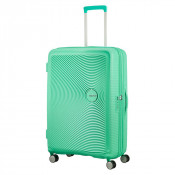 American Tourister Soundbox Spinner 77 Exp. Deep Mint