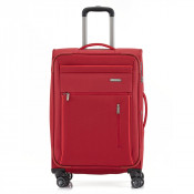 Travelite Capri 4 Wheel Trolley M Expandable Red