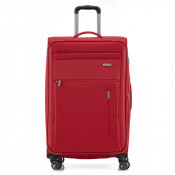 Travelite Capri 4 Wheel Trolley L Expandable Red