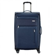Travelite Capri 4 Wheel Trolley L Expandable Navy