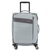 Travelite Kite 4 Wheel Trolley S Silver