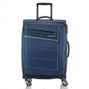 Travelite Kite 4 Wheel Trolley L Expandable Navy