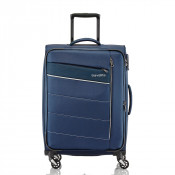 Travelite Kite 4 Wheel Trolley M Expandable Navy