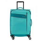 Travelite Kite 4 Wheel Trolley M Expandable Turquoise
