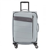 Travelite Kite 4 Wheel Trolley M Expandable Silver