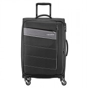 Travelite Kite 4 Wheel Trolley L Expandable Black