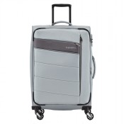 Travelite Kite 4 Wheel Trolley L Expandable Silver