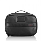 Tumi Alpha 2 Travel Split Kit Black Leather