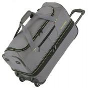 Travelite Basics Wheeled Duffle 70cm Expandable Grey/Green