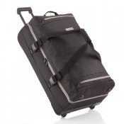 Travelite Basics Doubledecker Reistas Black/ Grey
