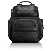 Tumi Alpha 2 Business Leather T-Pass Class Brief Pack Black