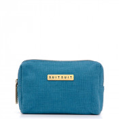 SuitSuit Fab Seventies Make-Up Tasje Seaport Blue